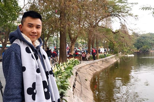 Bạn Hà Lê Shin đến từ Cần Thơ đã có những trải nghiệm đáng nhớ trong lần đầu thăm quan Thủ đô