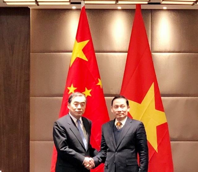 Hai Thứ trưởng Ngoại giao Việt Nam - Trung Quốc tại cuộc gặp thường niên vừa diễn ra