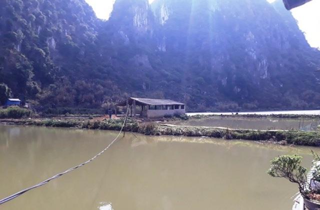 Khu vực hồ Hang Dồn, xã Hà Tiến, huyện Hà Trung