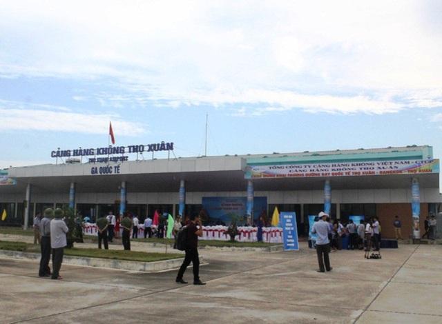 Cảng Hàng không Thọ Xuân sẽ tăng chuyến bay trong và ngoài tết phục vụ nhu cầu đi lại của người dân