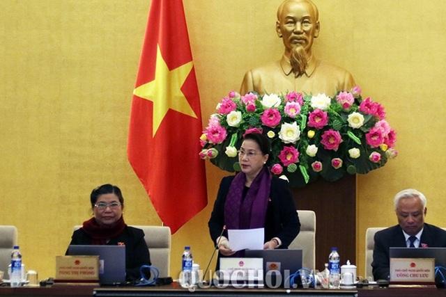 UB Thường vụ Quốc hội họp phiên sau cùng của năm Đinh Dậu, trước kỳ nghỉ Tết