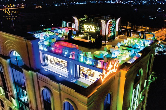 SKY BAR trên cùng – nơi tận hưởng cảm giác giải trí tuyệt vời về đêm ở Quảng Bình