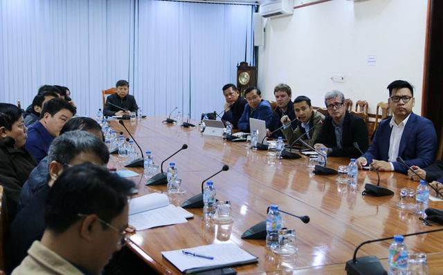 Chủ đầu tư làm việc cùng các cơ quan ban ngành tỉnh Quảng Bình về dự án resort 5 sao