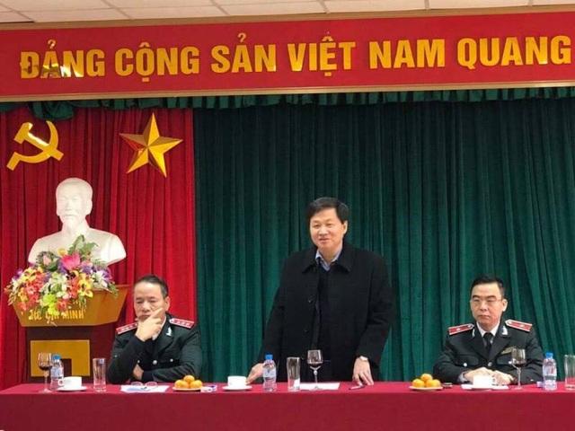 Tổng Thanh tra Chính phủ Lê Minh Khái làm việc với Ban Tiếp công dân Trung ương ngày 8/2.