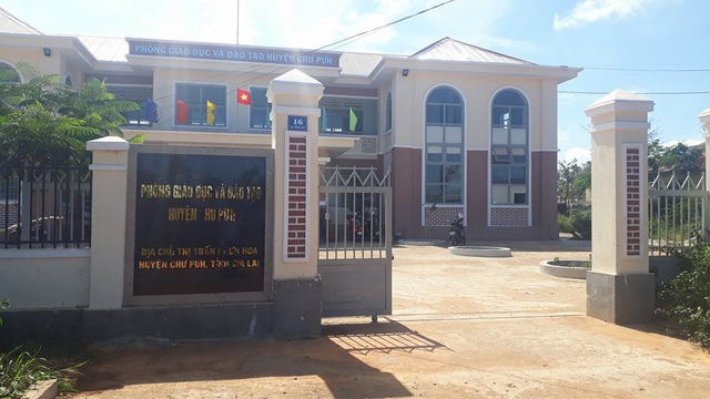 Phòng GD-ĐT huyện Chư Pưh nơi xảy ra nhiều sai phạm liên quan đến tiền hỗ trợ học sinh
