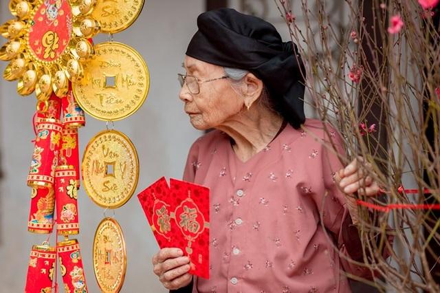 Ấm áp bộ ảnh Tết của cụ bà 100 tuổi ở Thái Nguyên - 8