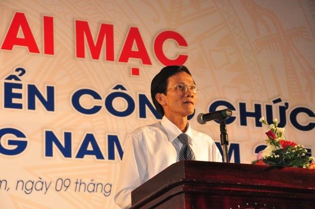 Ông Nguyễn Hữu Sáng – Giám đốc Sở Nội vụ Quảng Nam