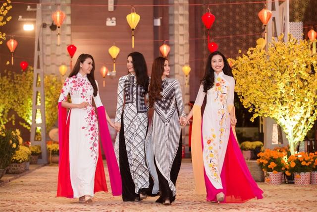 Hoa khôi Đà Nẵng - Như Thủy, Á hậu Diệu Thùy, Á hậu Diễm Trang, Top 10 Hoa hậu Việt Nam -Kiều Vỹ
