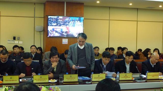 Chủ tịch Hội đồng thành viên VNPT Trần Mạnh Hùng chia sẻ hoạt động sản xuất kinh doanh và tình hình thoái vốn của VNPT.