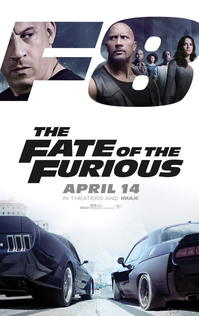 "2. ""The Fate of the Furious"" (Quá nhanh, Quá nguy hiểm 8) - 1,23 tỷ USD"