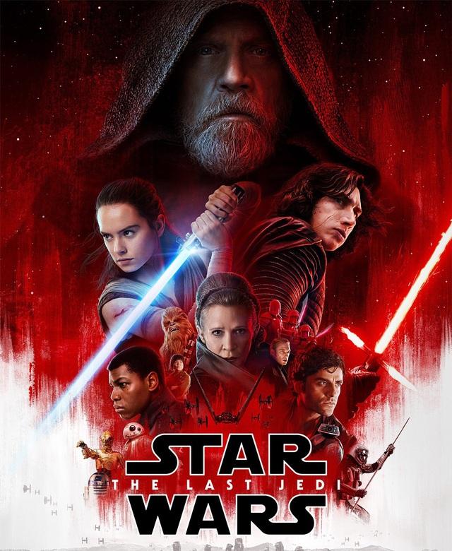 """3. """"Star Wars: The Last Jedi"""" (Star Wars: Jedi cuối cùng) - 1,20 tỷ USD"""
