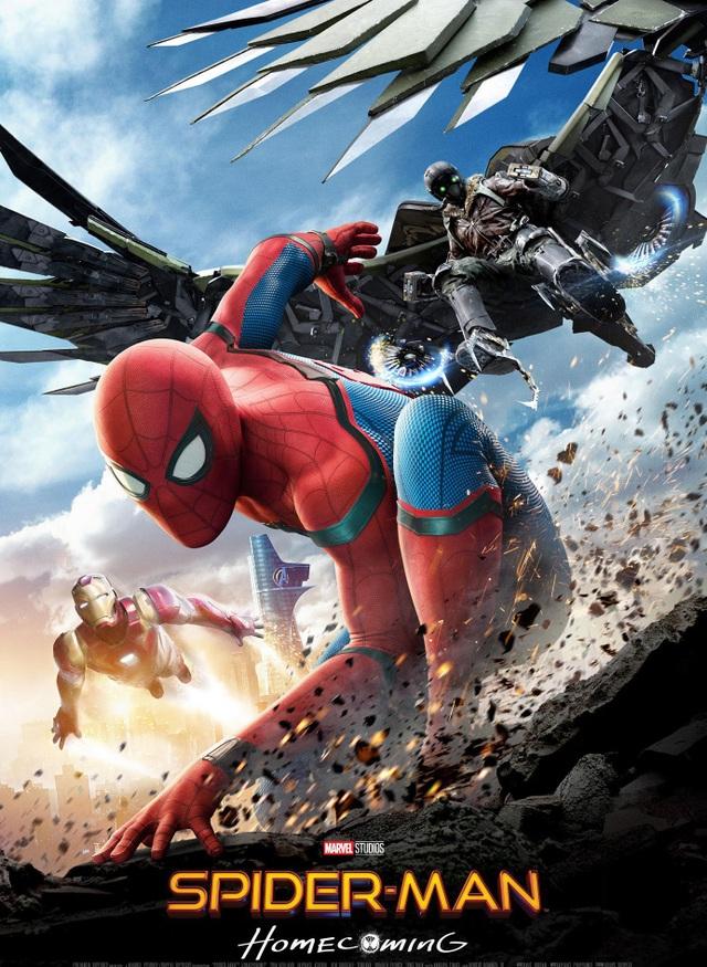 """5. """"Spider-Man: Homecoming"""" (Người Nhện: Trở về nhà) - 880,1 triệu USD"""