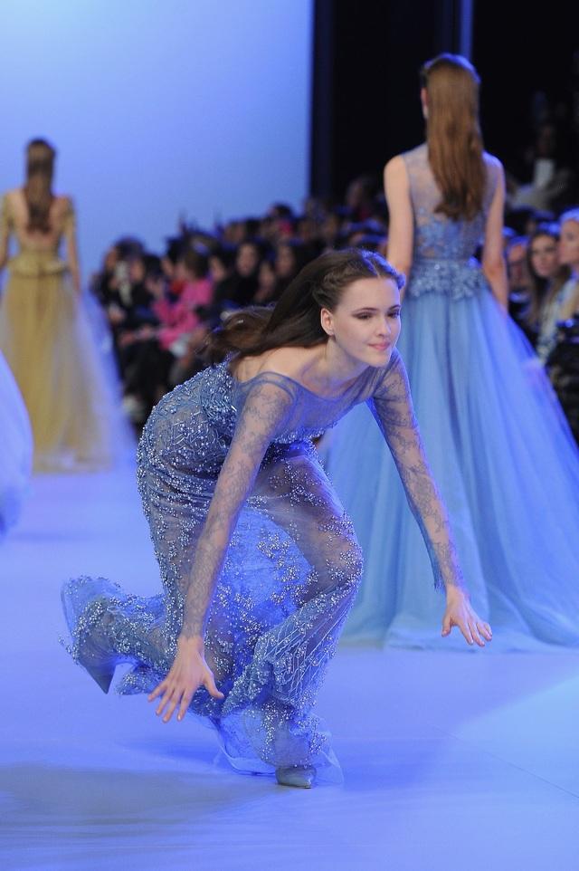 Tại Tuần lễ Thời trang Paris 2014.