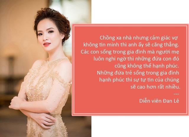 Xem thêm: Đan Lê không muốn kiểm soát kể cả khi nghi ngờ chồng có bồ do vắng nhà lâu ngày