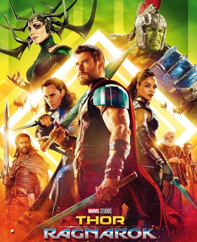 "8. ""Thor: Ragnarok"" (Thor: Tận thế Ragnarok) - 841,8 triệu USD"