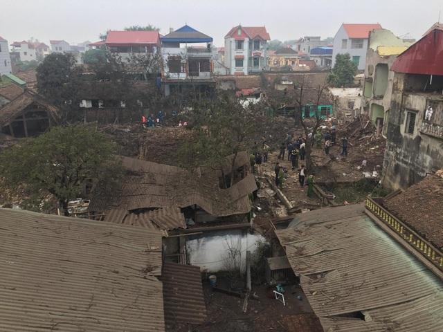 Hiện trường đổ nát của vụ nổ kinh hoàng ở Bắc Ninh - 3