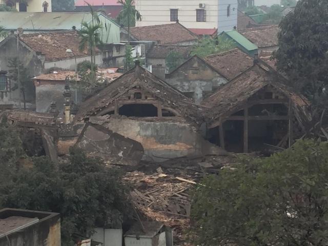 Theo báo cáo của UBND huyện Yên Phong, có 4 ngôi nhà bị đổ sập hoàn toàn trong vụ nổ