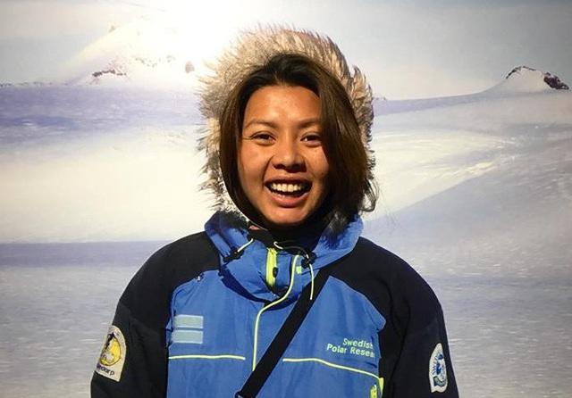Cô Sofia Andersson (tên tiếng Việt là Nguyễn Hương Giang) (Ảnh do nhân vật cung cấp)