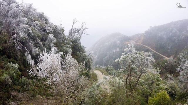 Thời tiết năm nay tuy lạnh giá nhưng không có mưa nên đường đi khá dễ dàng, cảnh sắc cũng thơ mộng và khá ấn tượng.