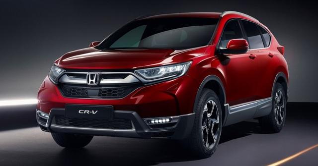 Phiên bản hybrid - Điểm nhấn của Honda CR-V thế hệ mới ở châu Âu - 1