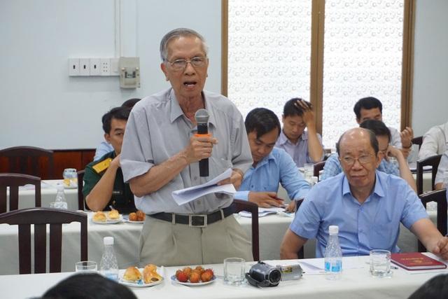 GS.TS Chu Phạm Ngọc Sơn cho rằng nên tính phí dựa trên mức độ gây ô nhiễm chứ không tính theo lưu lượng nước xả thải