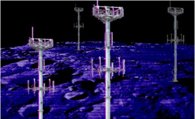 Mặt trăng cũng sẽ có mạng điện thoại di động riêng - 1