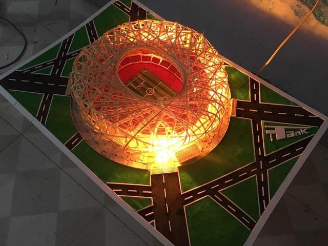 """Sân vận động """"Tổ chim"""" ở Trung Quốc"""