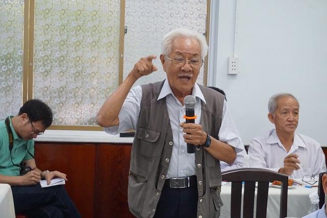 PGS.TS Phạm Thành Hổ cho rằng cách tính phí của đề án là cào bằng, tính phí theo lượng nước tiêu thụ là không hợp lý