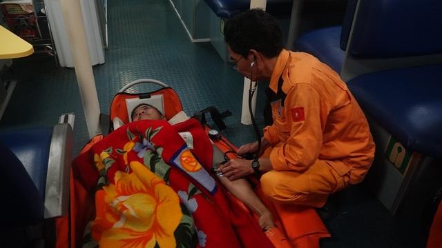 Nhờ sự quyết tâm, kịp thời và nhanh chóng của lực lượng cứu nạn hàng hải, thuyền viên Guerrero Rosmeni Nedia đã qua cơn nguy kịch