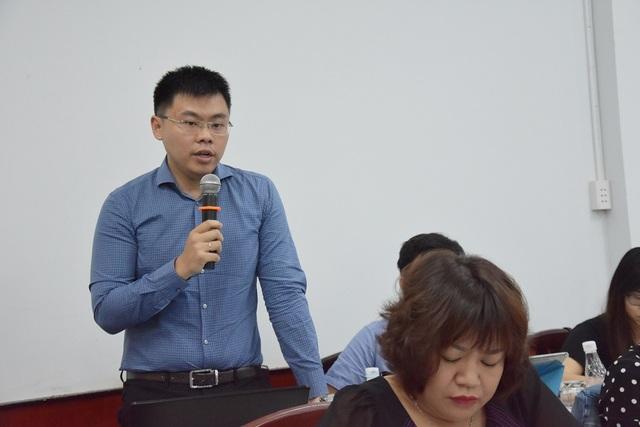 TS Trương Minh Huy Vũ nhấn mạnh rằng dự thảo đề án không nhằm tăng nguồn thu mà điều chỉnh hành vi xả thải