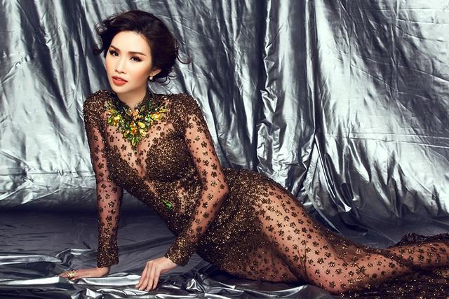 """Á hậu """"siêu vòng 3"""" Thanh Trang đáp trả khi bị chỉ trích """"không đủ năng lực làm giám khảo"""" - 2"""