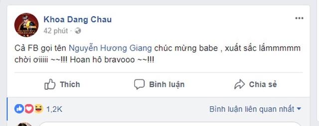 Nhạc sĩ Châu Đăng Khoa vô cùng hào hứng và phấn khích vì sự thành công của Hương Giang