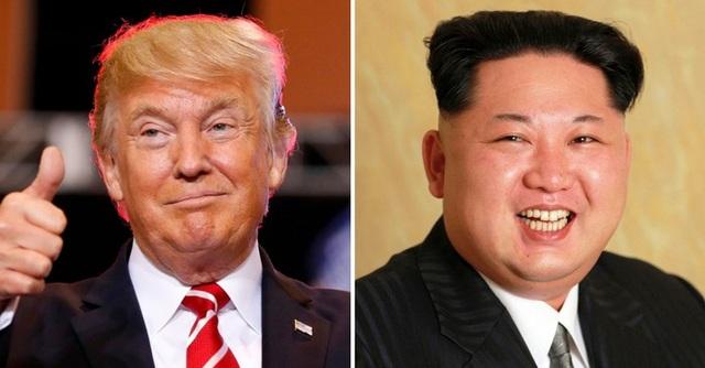 Tổng thống Donald Trump và nhà lãnh đạo Kim Jong-un (Ảnh: Getty)