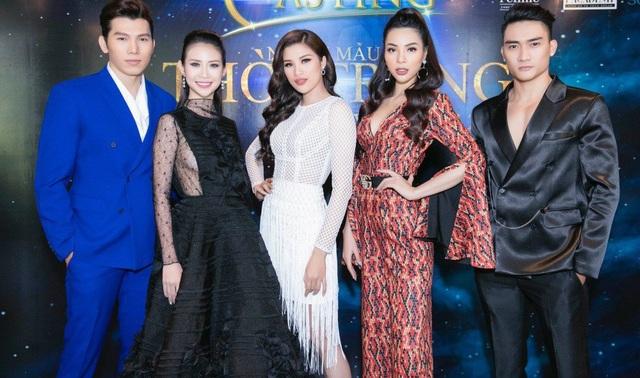 Dàn siêu mẫu làm giám khảo cuộc thi Người mẫu thời trang Việt Nam 2018.