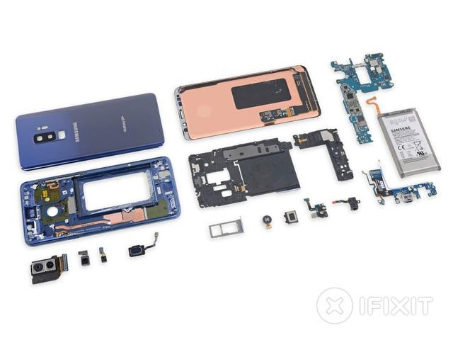 Tất cả linh kiện của Galaxy S9+