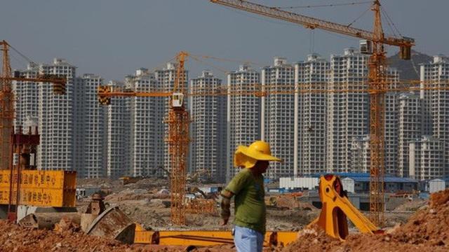 Một dự án khu căn hộ dân cư tại tỉnh Quảng Đông - Trung Quốc Ảnh: REUTERS
