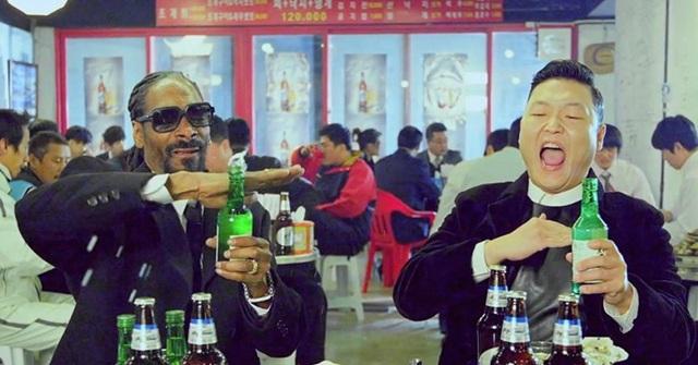 Rượu Soju góp mặt trong mọi cuộc vui của người dân xứ Hàn