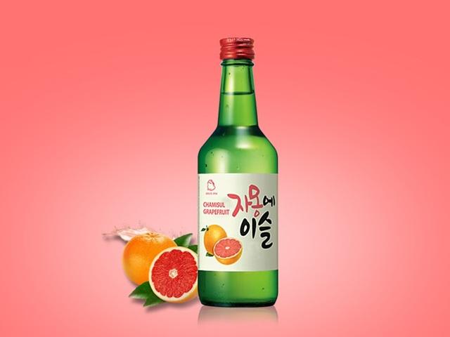 Jinro Soju - hương vị trái cây thanh mát nhẹ nhàng
