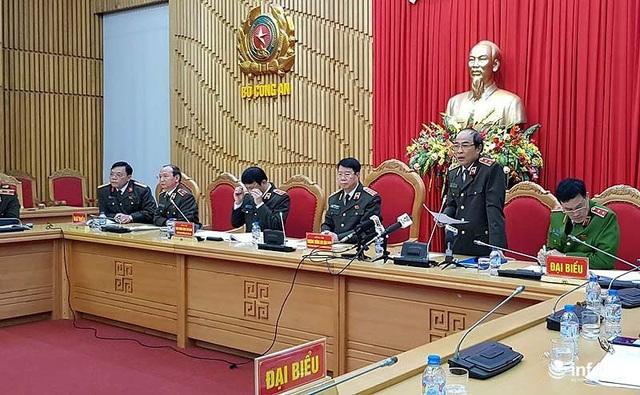 Họp báo công bố thông tin về vụ án đường dây tổ chức đánh bạc 1.000 tỷ đồng phát hiện tại Phú Thọ