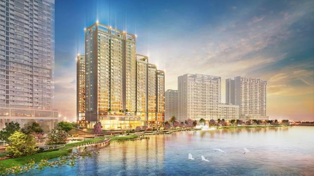 Tòa nhà M7A thuộc công trình The Signature được mở bán cuối tháng 3/2018 có vị trí đắc địa đối diện quảng trường chính công viên Sakura Park và sông cảnh quan.