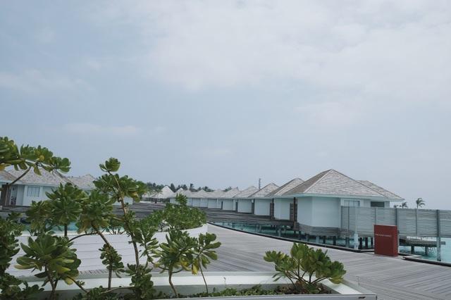 Tất nhiên, nói đến Maldives là nói về chốn nghỉ dưỡng xa hoa với rất nhiều resort 5 sao tiêu chuẩn quốc tế, giá rẻ nhất cho mỗi phòng cũng phải từ 150$ - 350$, tuy nhiên, mọi người cũng có thể lựa chọn cách thuê homestay ở các đảo có cư dân sinh sống để trải nghiệm thiên đường du lịch này với mức giá bình dân hơn. Quỳnh Chi cùng Thuỳ Dung đặt 4 căn biệt thự trên mặt nước, mỗi căn cho 3 người gói All Inclusive giá khoảng 25 triệu cho 1 phòng 1 đêm, bao gồm 3 bữa buffet một ngày, uống rượu vang và bia thoải mái, trong phòng sẽ được phục vụ rượu vang đỏ và rượu vang trắng mỗi ngày, cộng với việc tham gia một hoạt động trên biển do mình tự chọn ví dụ lặn biển ngắm san hô, đi thăm làng cư dân lân cận, đi cano ra ngắm hoàng hôn, dịch vụ chụp hình…