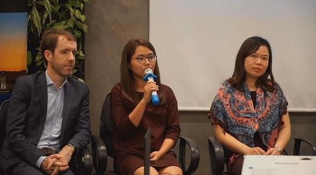 Chị Đinh Thị Thanh Hoa (chuyên viên phân tích rủi ro tại công ty Microsoft Singarpore, cựu sinh viên học bổng New Zealand ASEAN Scholarship.