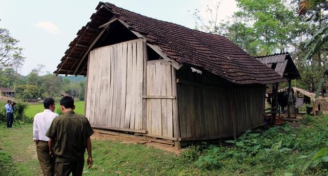 Gia đình H. còn nghèo lắm. Cả mấy mẹ con và cháu đang ở trong căn nhà nho nhỏ này.