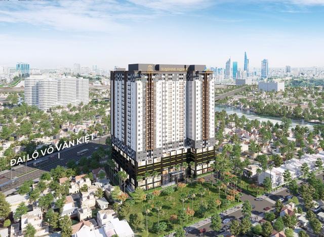 Khu căn hộ phức hợp thương mại Sunshine Avenue – liền kề tuyến đại lộ huyết mạch Võ Văn Kiệt