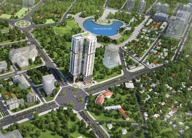 Golden Park thuộc top 5 toà nhà cao nhất Hà Nội. Thông tin căn hộ cao cấp vui lòng liên hệ hotline: 0936 90 9191