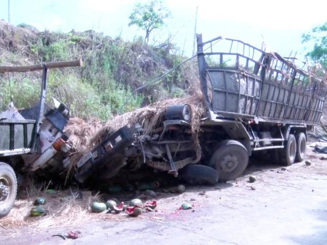 Vụ tai nạn đã làm 2 người ngồi trên cabin tử vong tại chỗ