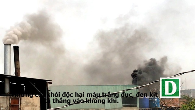Các cơ sở gây ô nhiễm đang bấp chấp, hoạt động theo kiểu phạt cứ phạt, xả cứ xả , trong khi chính quyền địa phương và các ngành chức năng huyện Bình Chánh không xử lý triệt để.