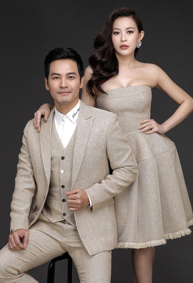 Hoa hậu áo dài Hải Dương không sợ vợ MC Phan Anh ghen khi chụp ảnh tình tứ - 5