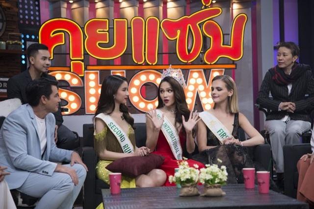 Hương Giang có phản ứng bất ngờ khi bị hỏi về tin đồn mua giải Hoa hậu Chuyển giới Quốc tế 2018.