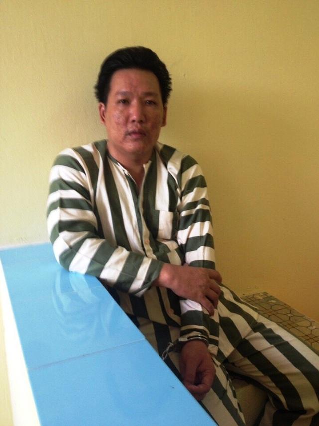 Các đối tượng trong băng trộm cắp, tiêu thụ tài sản do phạm tội mà có vừa bị Công an huyện Nhơn Trạch bắt giữ.